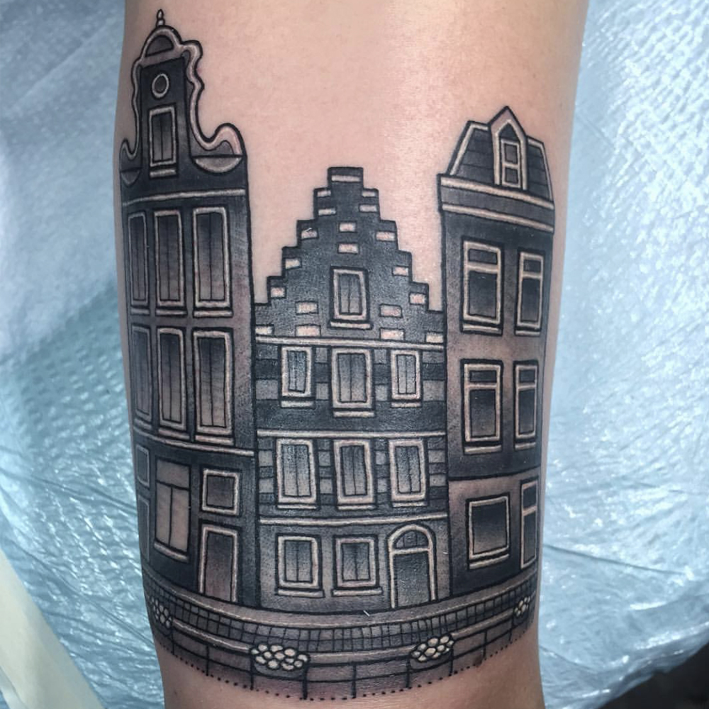 Dutch house tattoo