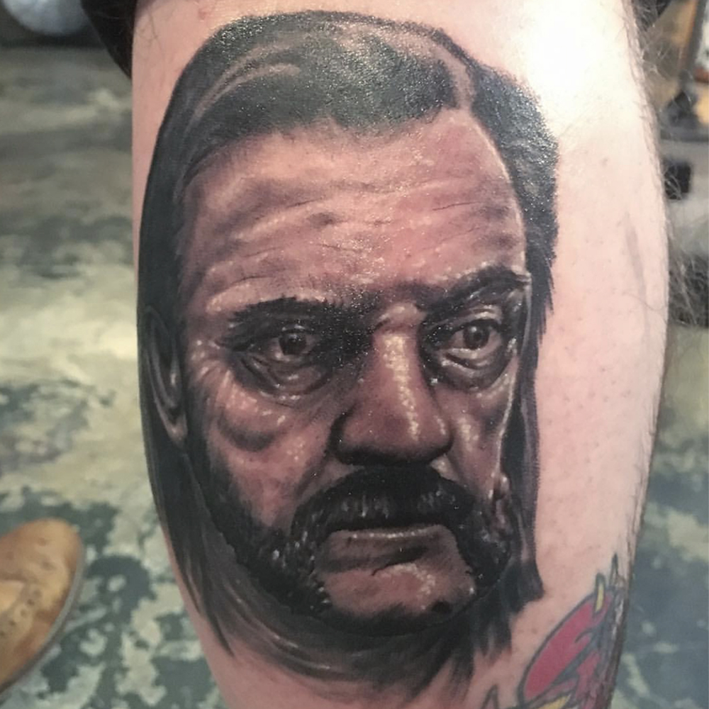 Lemmy tattoo