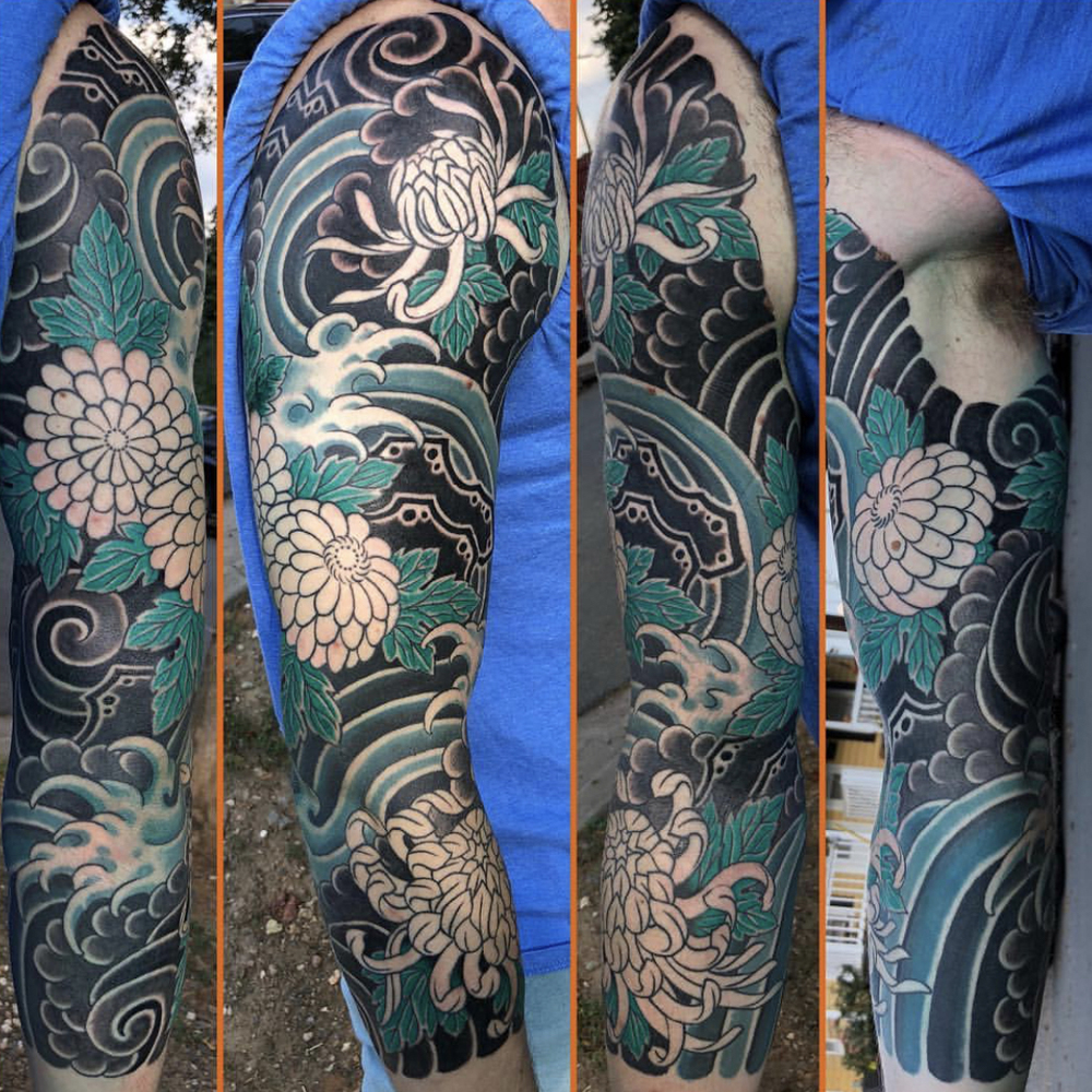 3/4 Japanese sleeve