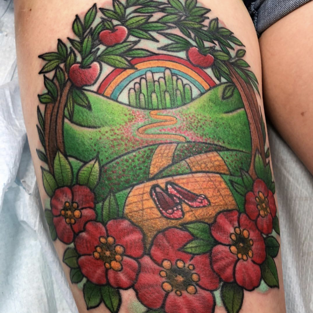 Wizard of Oz tattoos